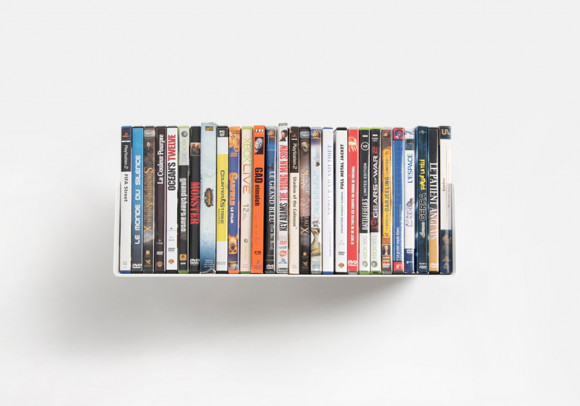 DVD Wall Shelf 45 x 15 cm