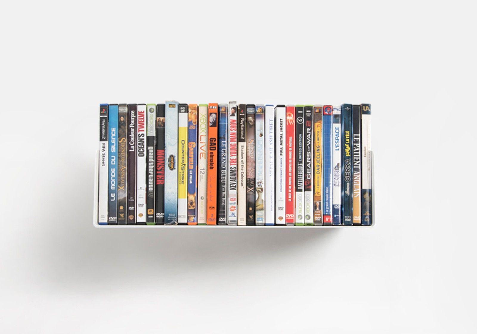 Étagère DVD USDVD - étagère range DVD 45 cm - TEEbooks