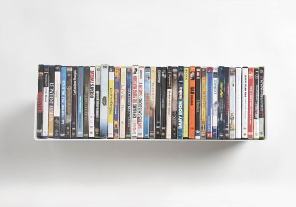 Mensola porta DVD - 60 cm - Acciaio