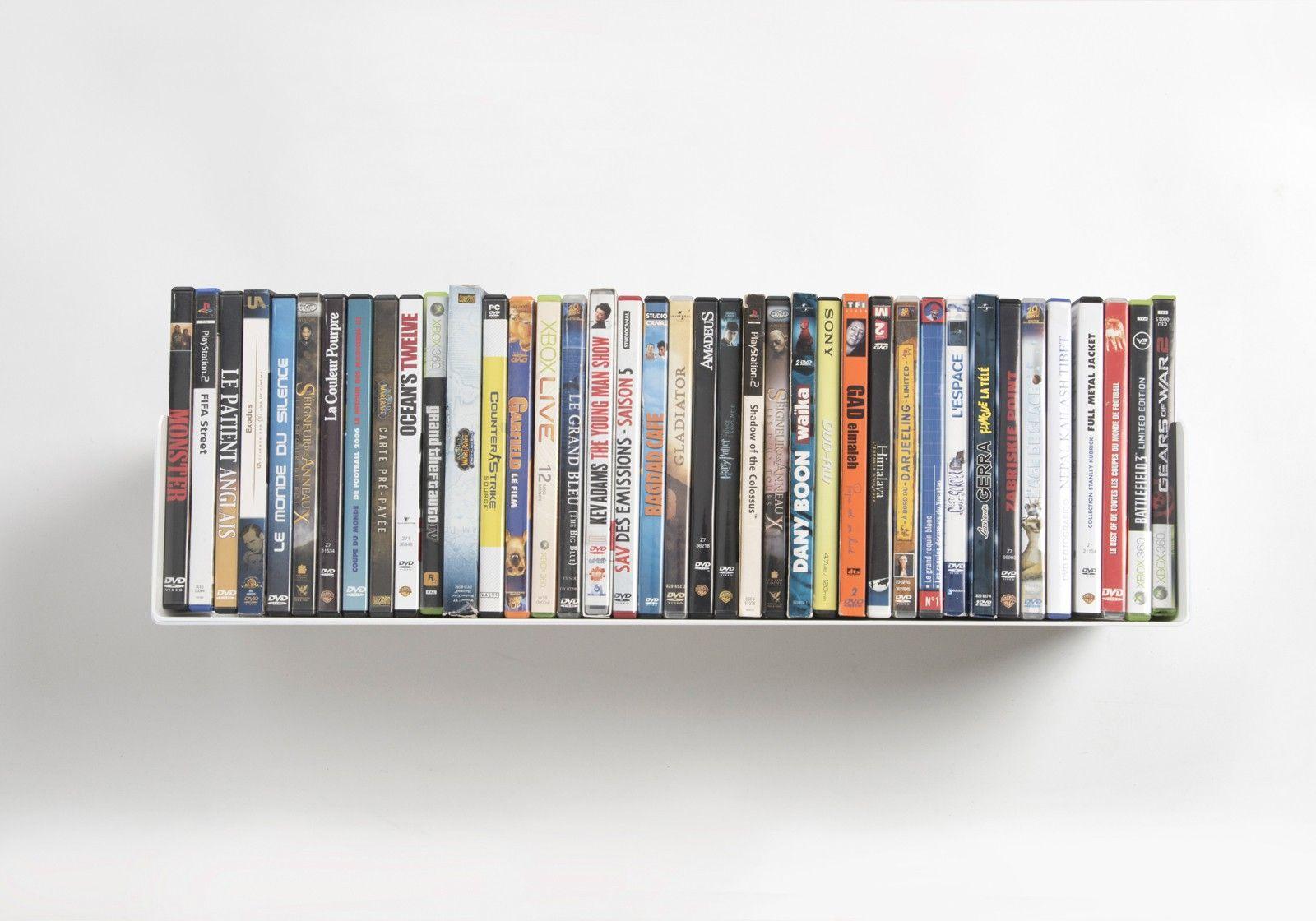 Étagère DVD UDVD   étagère range DVD 60 cm   TEEbooks