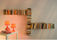 "Asymmetrical bookshelf ""T"" RIGHT"