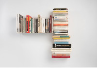 "Asymmetrical bookshelf ""T"" LEFT"