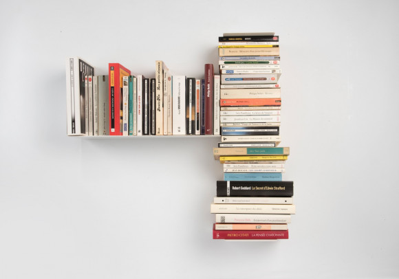 "Asymmetrical bookshelf ""T"" LEFT"