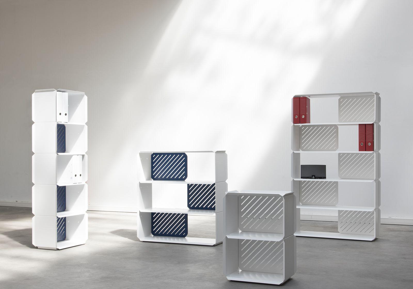 Libreria scaffali componibili scaffali modulari ikea with for Scaffali design