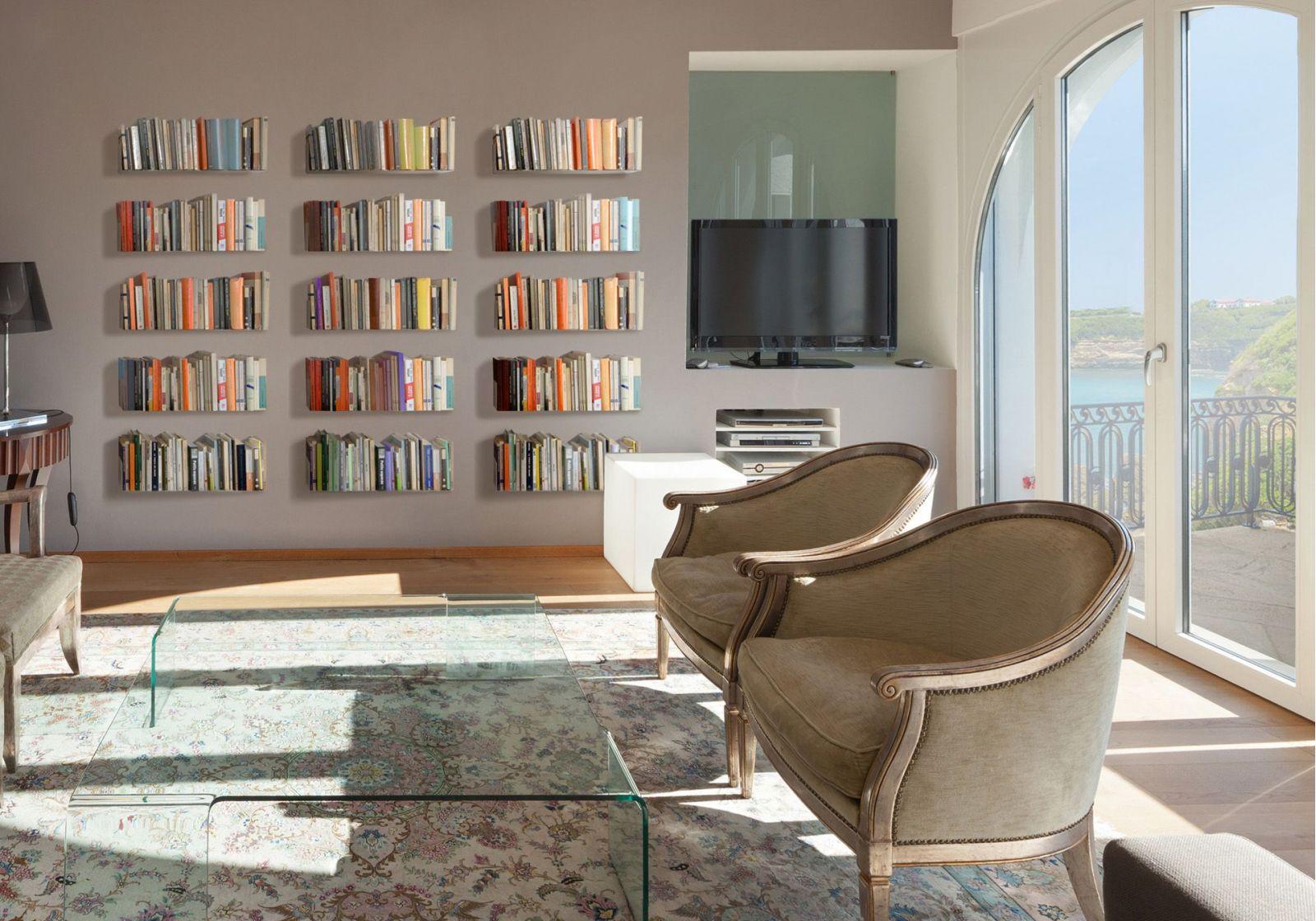 Bücherregal design wand  Bücherregale