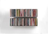 Étagère range CD USCD - Lot de 2
