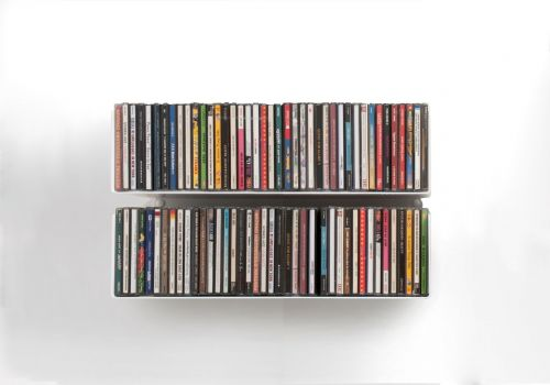 Set of 2 USCD - CD shelves