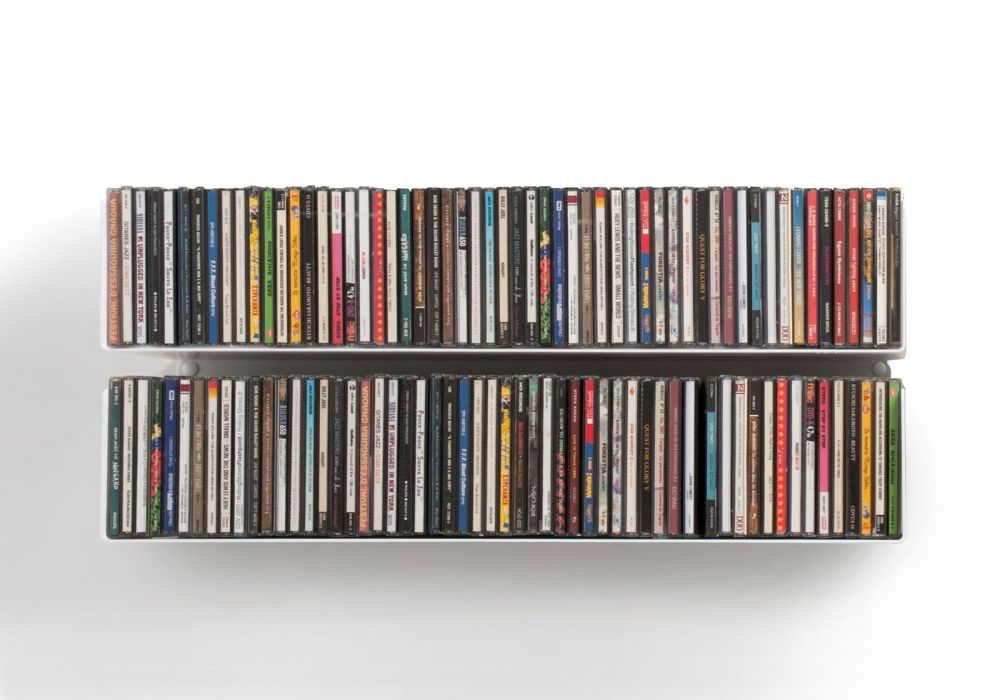 Set of 2 UCD - CD shelves