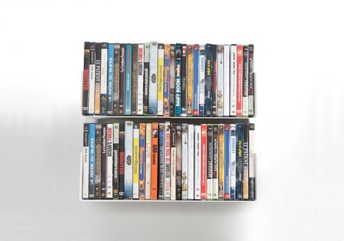 Set of 6 USDVD - DVD shelves