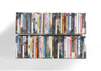 Étagère range DVD UDVD - Lot de 2