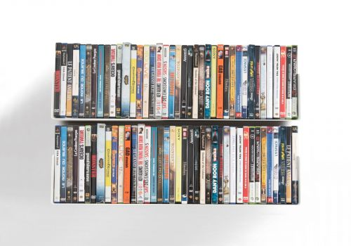 Set of 2 UDVD - DVD shelves