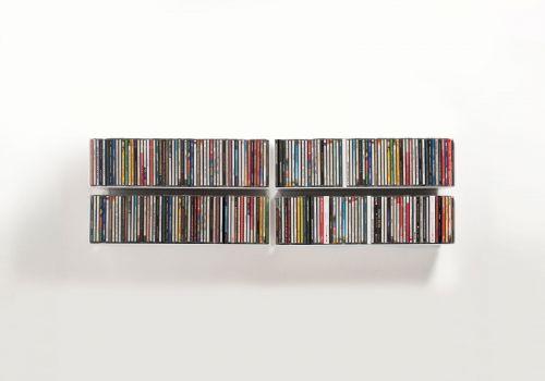 Set of 4 USCD - CD shelves