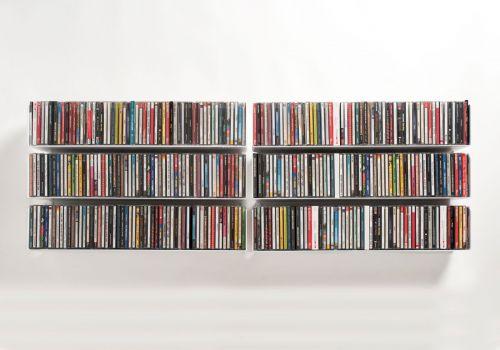 Set mit 6 UCD - CD-Regalen