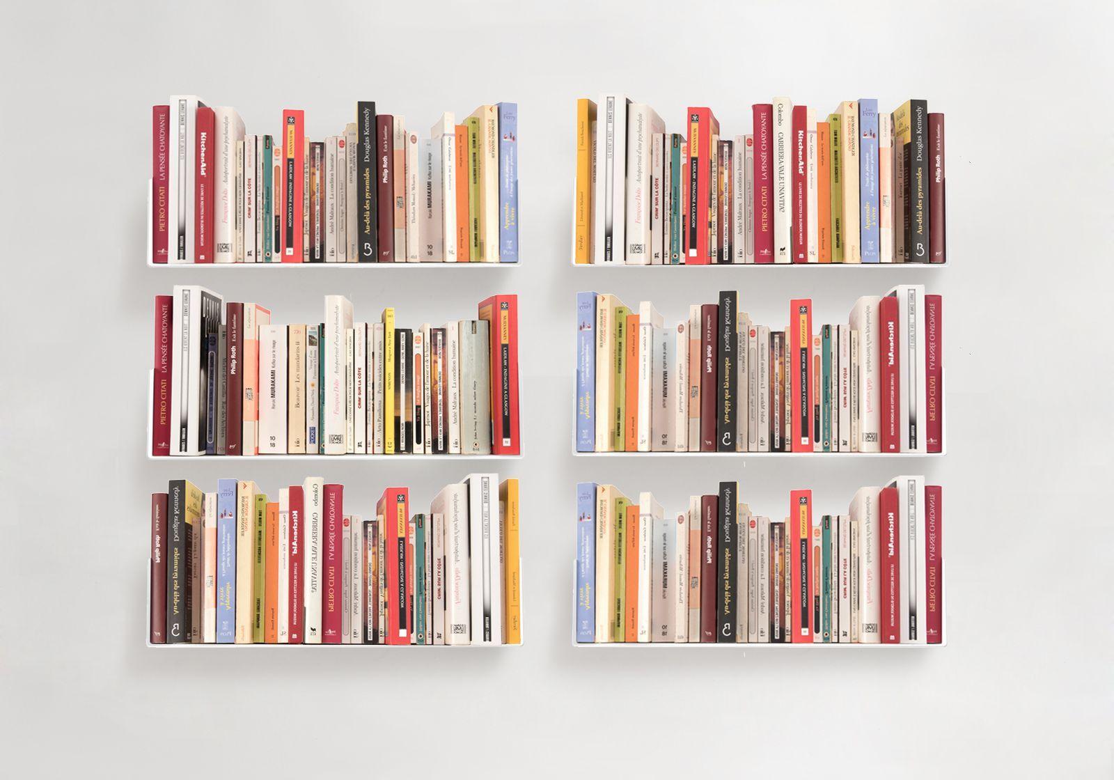 Bookshelves us set of 6 - Etagere murale 150 cm ...