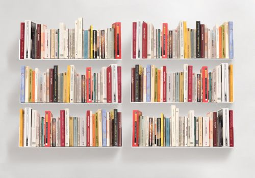 "Set of 6 Bookshelves ""U"""