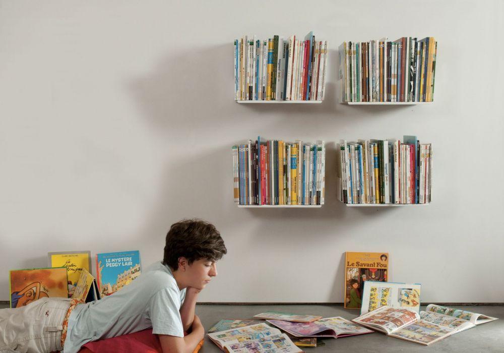 "Set of 4 Bookshelves design ""UBD"""