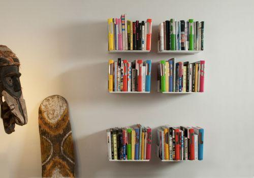 """Satz von 6 Bücherregale """"UBD"""""""