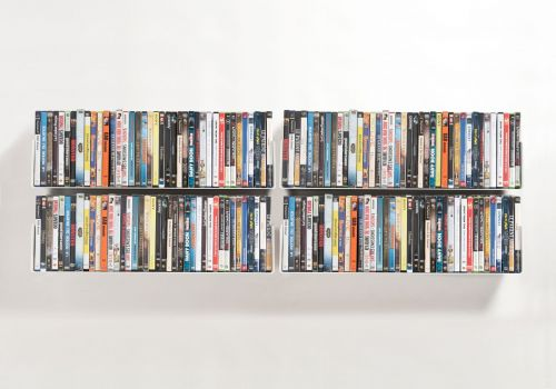 Set di 4 UDVD - Mensole porta DVD
