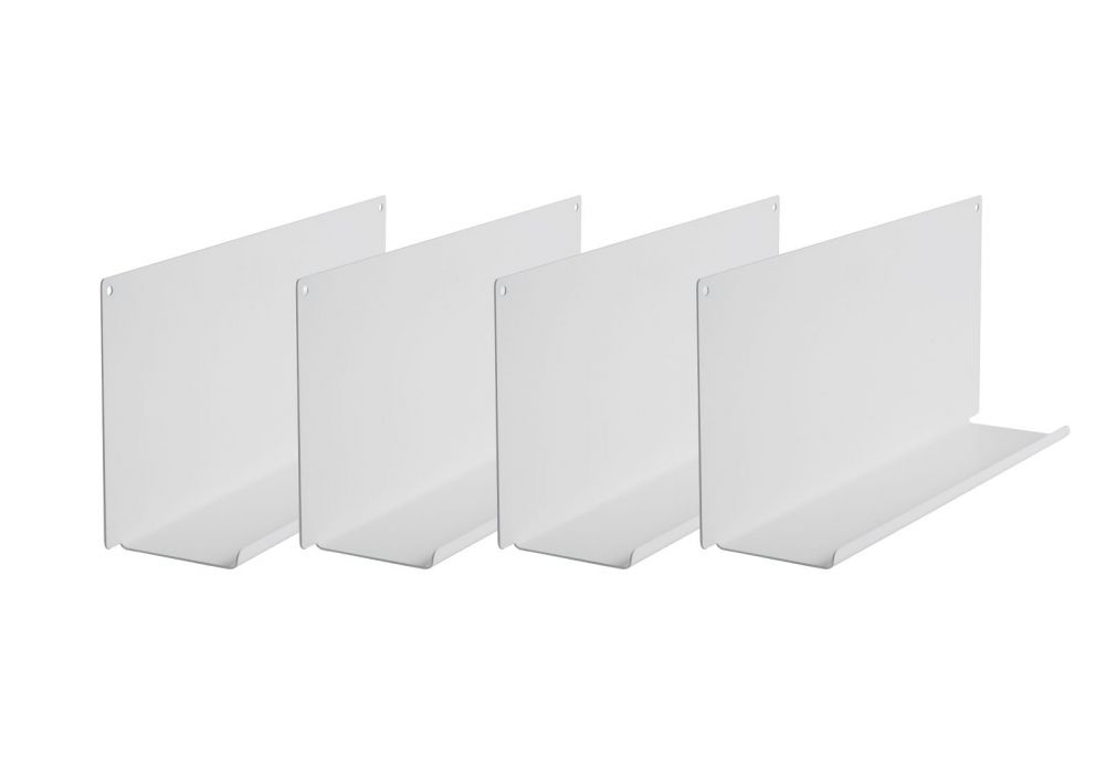"Set of 4 Shelves for picture frames ""LE"""