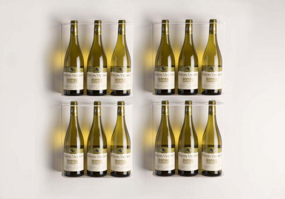 Flaschenregale TEEWine - Set aus 4 Regale
