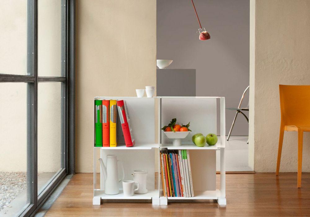 meuble de rangement 4h - petit meuble design - teebooks - Petit Meuble De Rangement Design