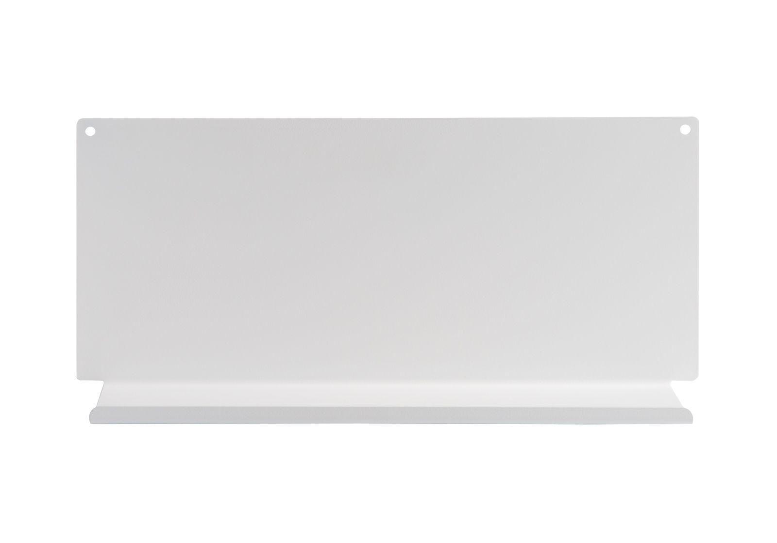 Tag re pour salle de bain le 45 x10 cm acier blanc - Etagere d angle pour salle de bain ...