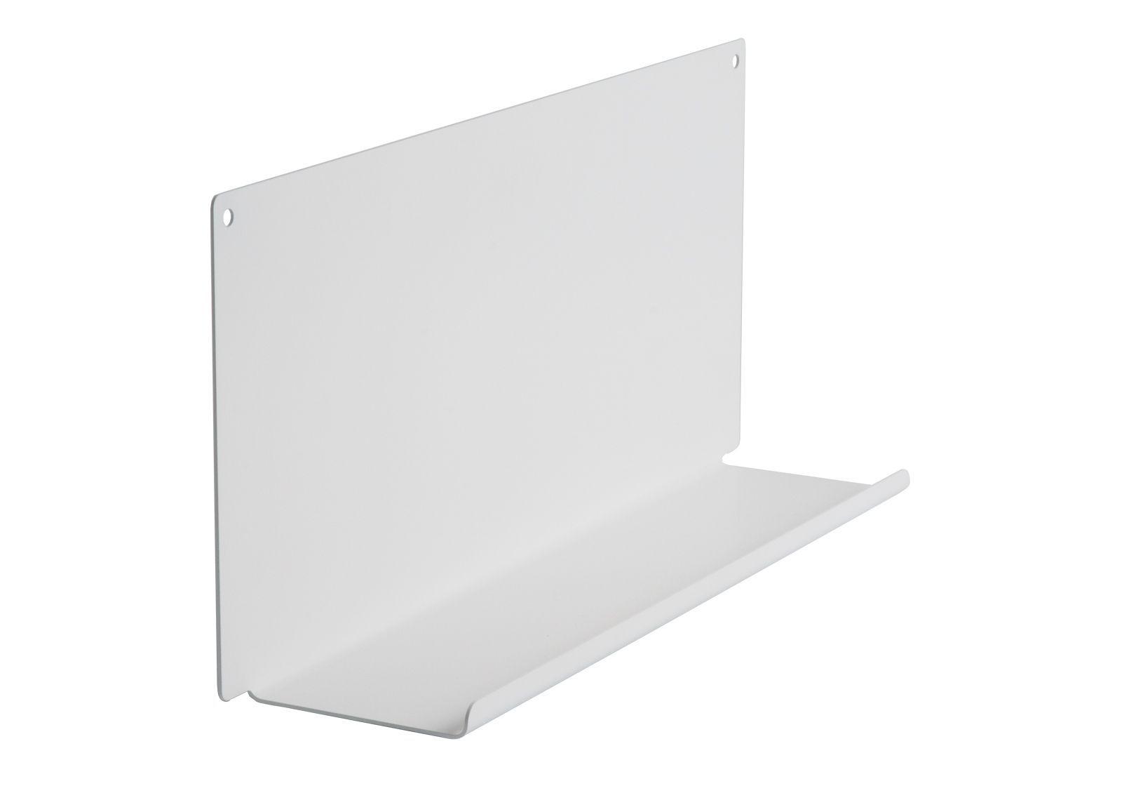 tag re pour salle de bain le 45 x10 cm acier blanc. Black Bedroom Furniture Sets. Home Design Ideas