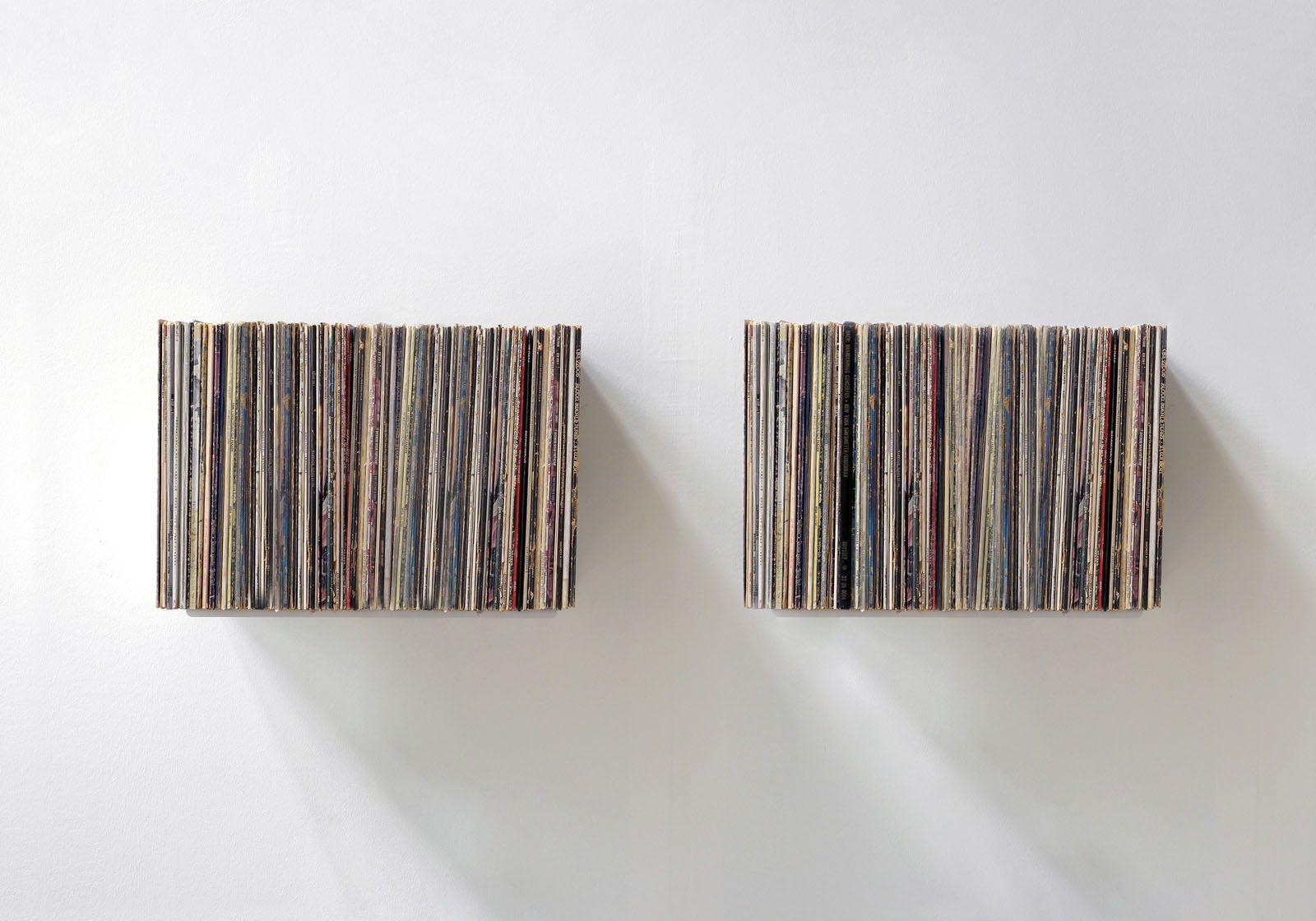Vinyl Record Storage 45 Cm   Set Of 2