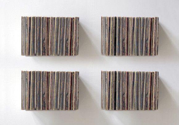 """UBD"" Vinyl Storage - Set of 4 Shelves"