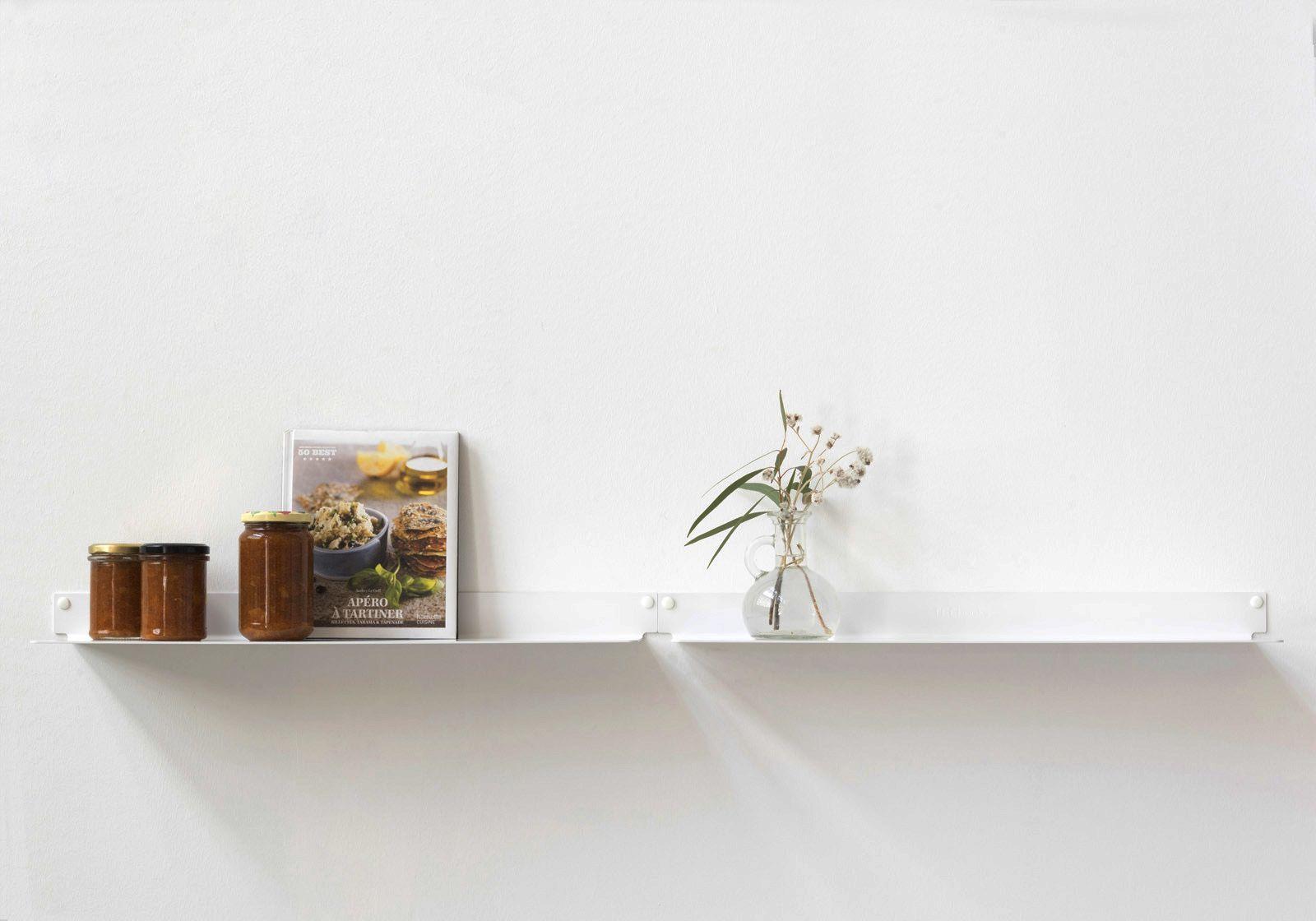 Tag re murale cuisine teeline 6015 lot de 2 teebooks - Etagere pour livre de cuisine ...