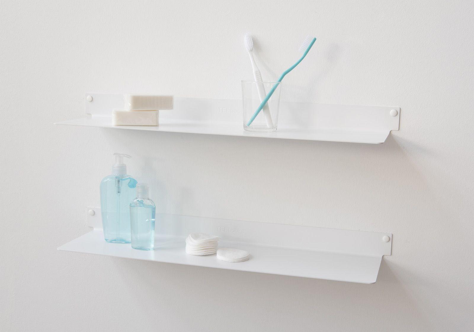 badregale teeline satz von 2 45 cm stahl. Black Bedroom Furniture Sets. Home Design Ideas