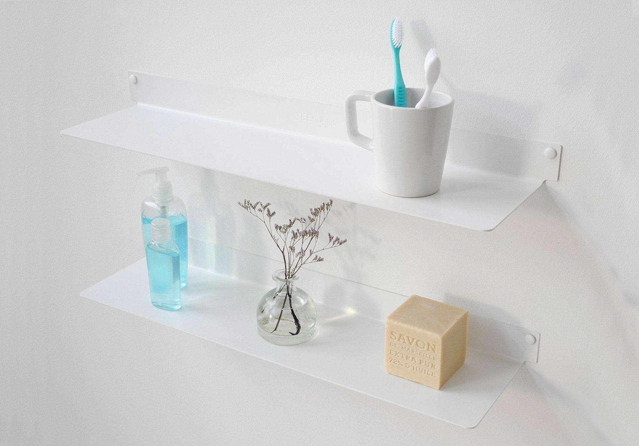 Mensole per bagni top per lavabo con cassettiera staccata for Mensole per doccia ikea