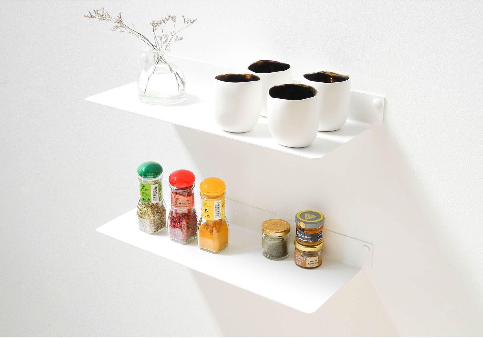tag re pour la cuisine teeline 45 cm lot de 2 acier. Black Bedroom Furniture Sets. Home Design Ideas