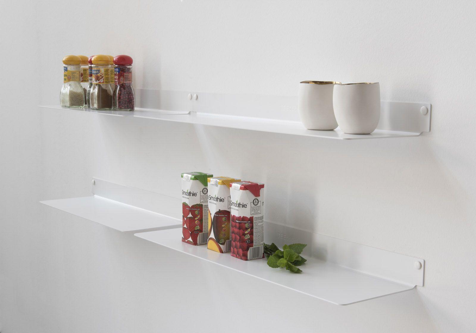 estantes de pared para cocina teeline juego de