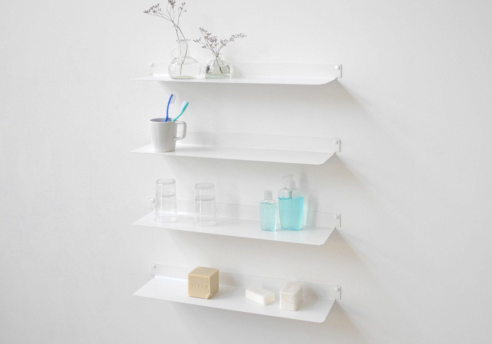 323 teeline 6015 bathroom shelves set of 4