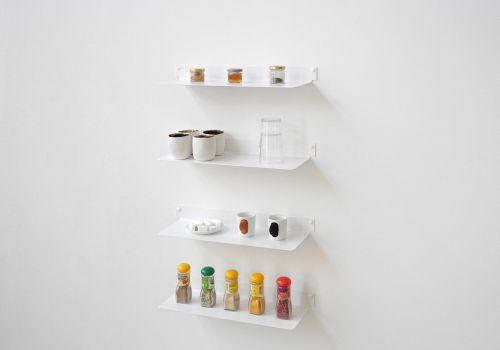 Estantes de pared para cocina TEEline 4515 - Juego de 4