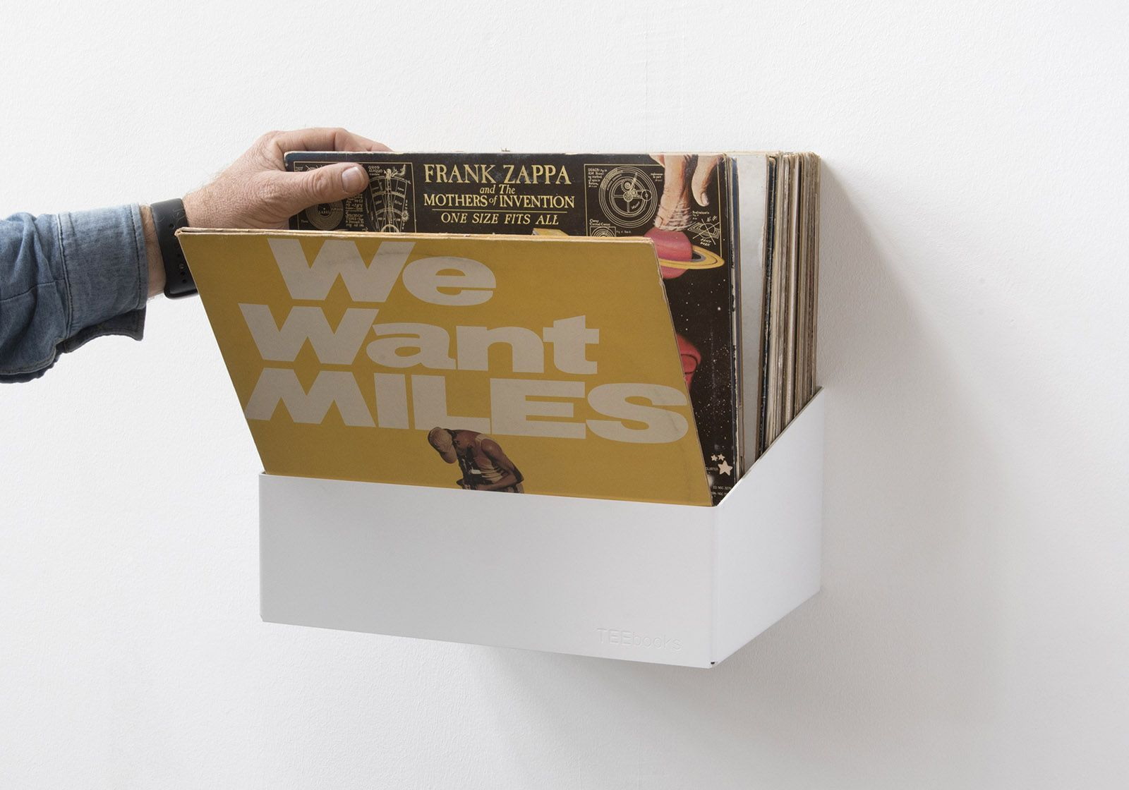 Schallplattenregal Teenyle 60 70 Vinyls Stahl