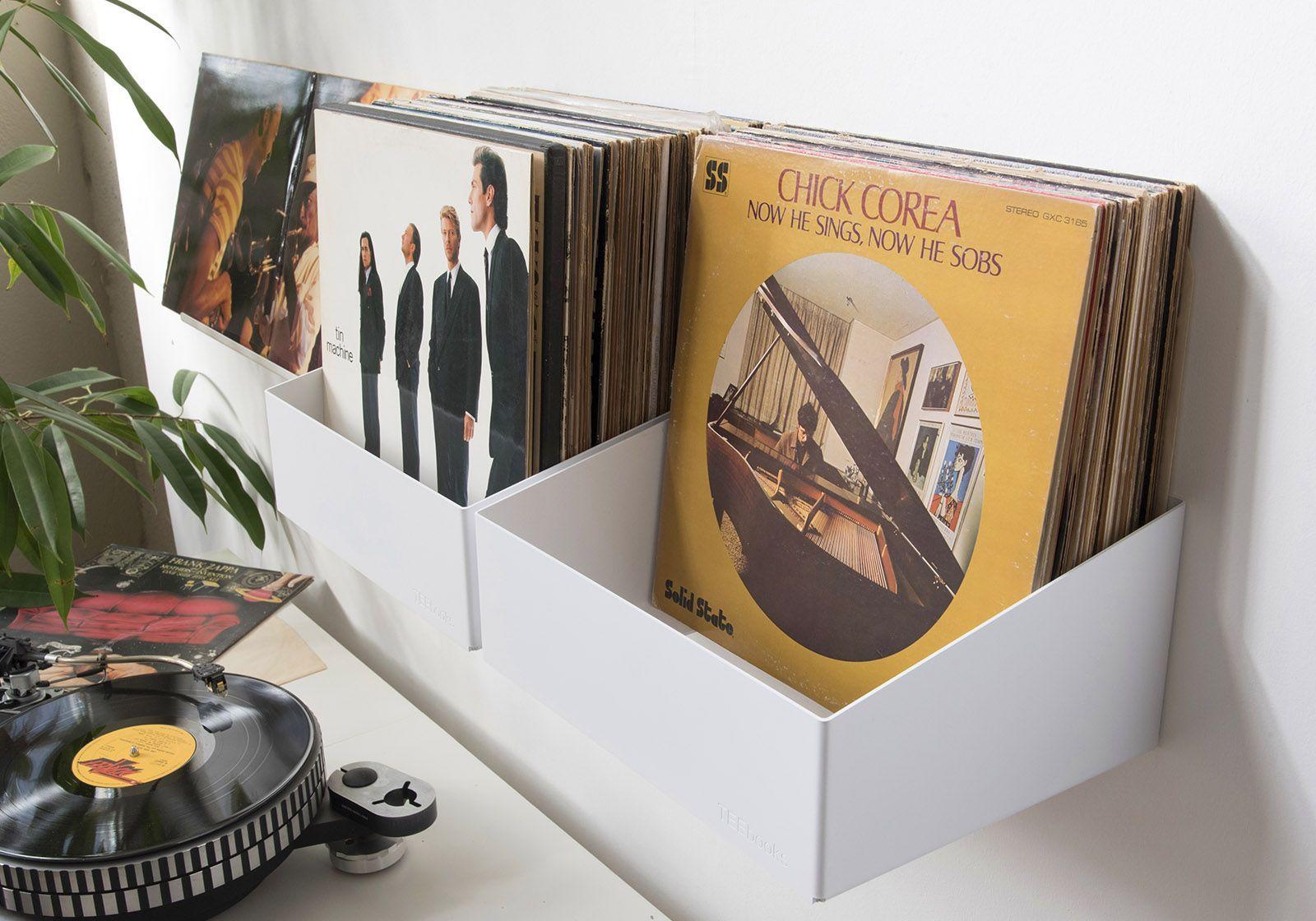 tag re de rangement pour vinyles teenyle lot de 2 teebooks. Black Bedroom Furniture Sets. Home Design Ideas