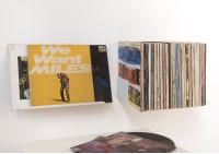 """Étagère présentoir pour vinyles """"LE"""" - Lot de deux"""