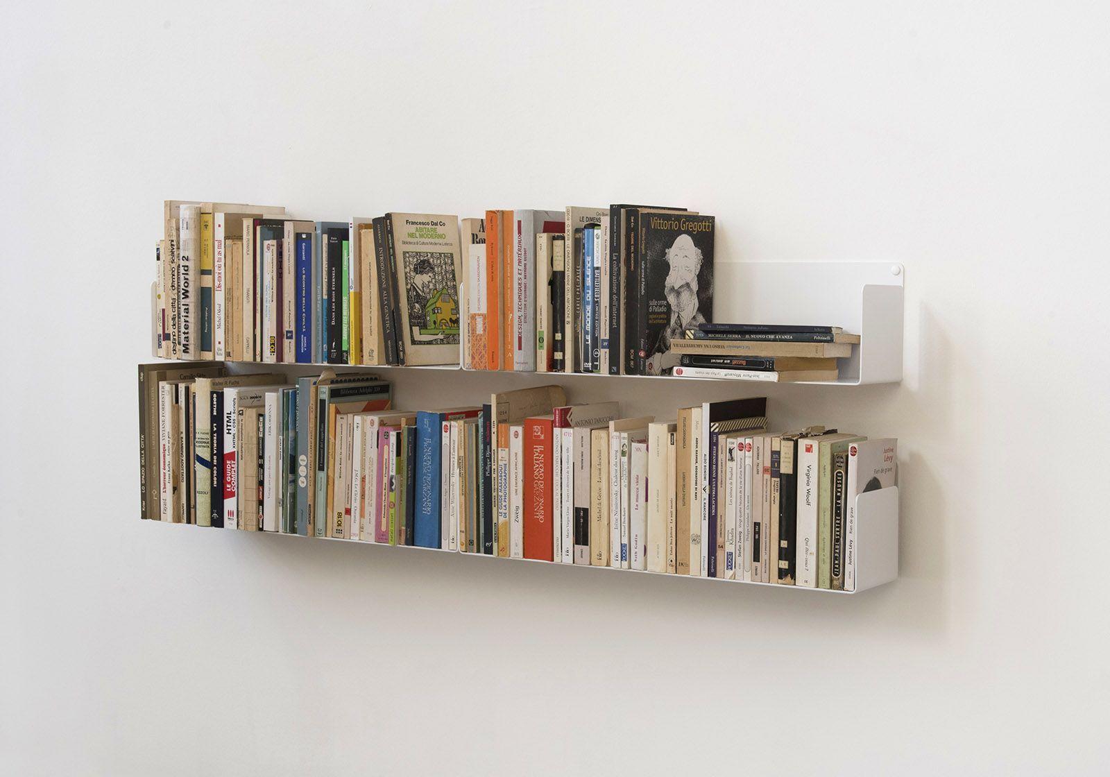 Set Of 4 Wall Mounted Bookshelves U Teebooks