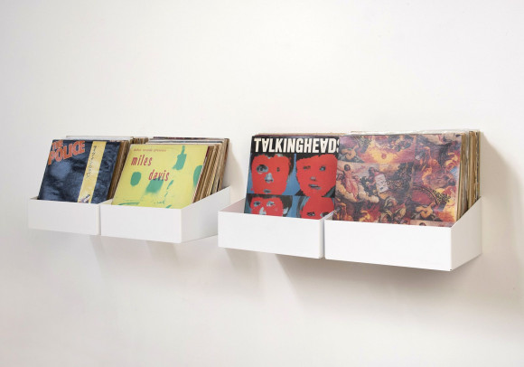 """TEEnyle"" Vinyl Storage Shelf - Set of 4"