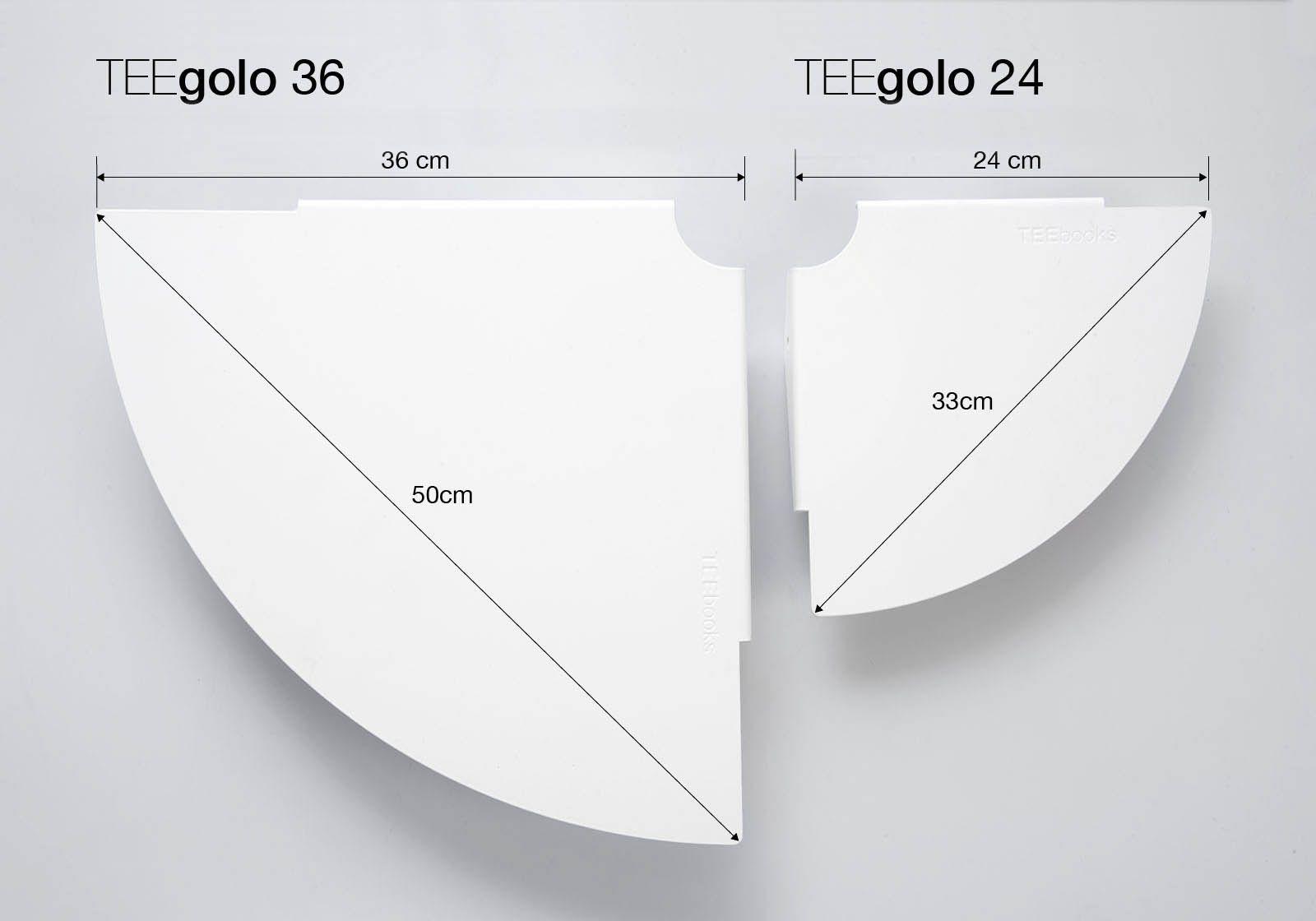 corner shelf teegolo 36cm set of 2. Black Bedroom Furniture Sets. Home Design Ideas