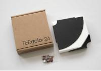 mensola angolare TEEgolo 24cm - Set di 2 mensole