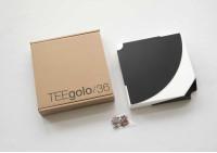 Étagère d'angle TEEgolo 36 cm - Lot de 2