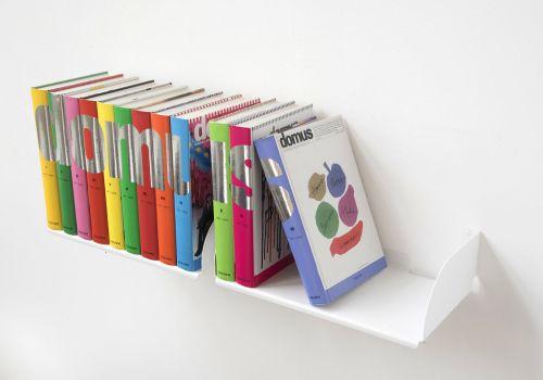 """Mensole per libri """"UBD"""" - Set di 2 - 45 cm - Acciaio"""