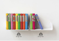 "Floating shelves ""UBD"" - Set of 4"
