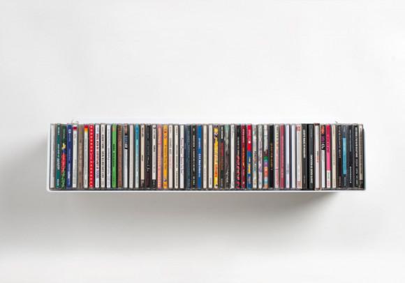 Étagère range CD - 60 cm