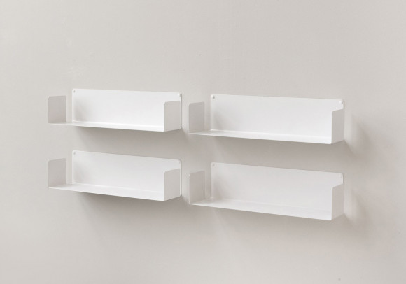Floating shelves 60 cm - Set of 4
