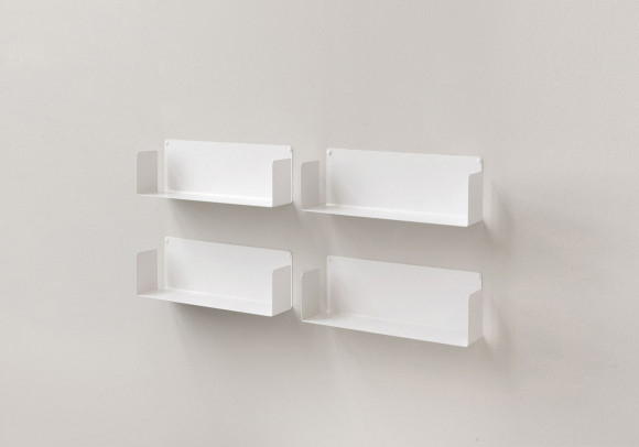 Floating shelves 45 cm - Set of 4