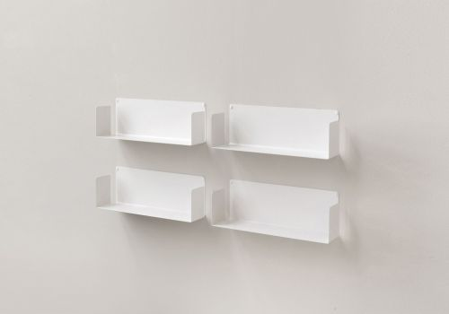 "Floating shelves ""US"" - Set of 4"